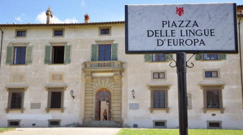 Pagina d'entrata Accademia della Crusca
